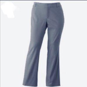 Dockers Women's Grayish Blue Khaki Work Pants 10T